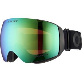 Oakley Flight Deck XM Snow Goggle Factory Pilot Blackout/Prizm Snow Jade Iridium
